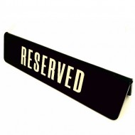 Reservations on tables of restaurants and cafes (4.5x17) cm