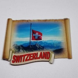 Magnet made of Plexiglass printed in full color