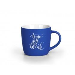 BERRY SOFT Stoneware Mug 300ml Engraved - Blue