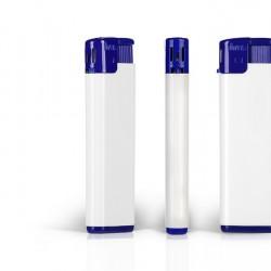 FRESH Electronic Plastic Lighter with Print (8x2.5x1)cm - Blue