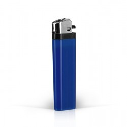 DOMINO Plastic Flint Lighter with Print (8.1x2.4x1.2)cm - Blue