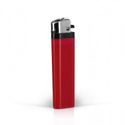 DOMINO Plastic Flint Lighter with Print (8.1x2.4x1.2)cm - Red
