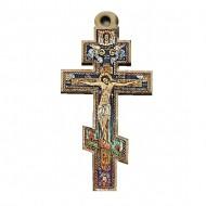 Color wooden cross Russian (3.8x2.4)cm
