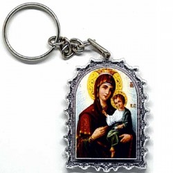 Plexiglas Key Pendant Lord Jesus Christ (4.7x3.5)cm