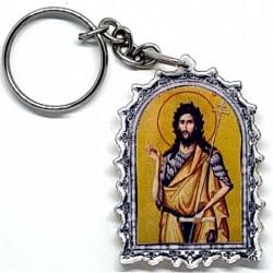 Plexiglas Key Pendant St. John the Baptist (4.7x3.5)cm