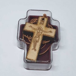 Gravirani Drveni Krstić (3.5x2.3)cm - u kutiji