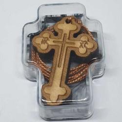 Gravirani Drveni Krstić (3.6x2.4)cm - u kutiji
