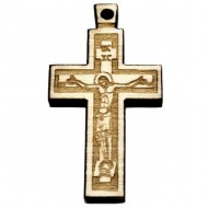 Wooden Engraved Cross (3.6x2.5)cm