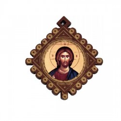 The Medallion Jesus Christ (3.6x3.3)cm