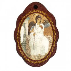 The Medallion of White Angel (2.9x2)cm