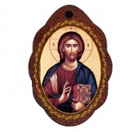 The Medallion of Jesus Christ (2.9x2)cm
