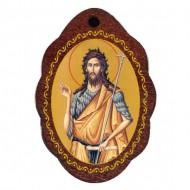 The Medallion of St. John Baptist (2.9x2)cm