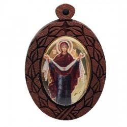 The Medallion of Monestery of Djunis (3.8x2.7)cm