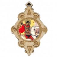 The Medallion of St. Georg  (4.3x2.9)cm