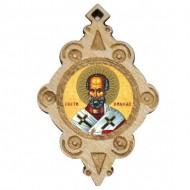 The Medallion of St. Nicholas (4.3x2.9)cm