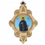 The Medallion of St. Petka - Paraskeva (4.3x2.9)cm