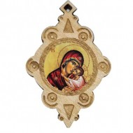 The Medallion of Virgin Mary (4.3x2.9)cm