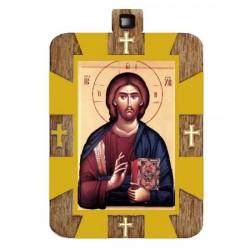 The Medallion of Jesus Christ (2.9x2)cm