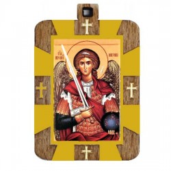 The Medallion of St. Archangel Michael (2.9x2)cm
