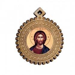 The Medallion of Jesus Christ (3.5x3)cm