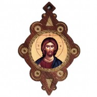 The Medallion of Jesus Christ (4.3x2.9)cm