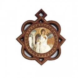 Medaljon Beli Anđeo (3.3x2.9)cm