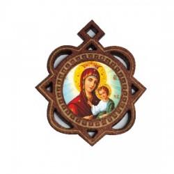 Medaljon Bogorodica (3.3x2.9)cm