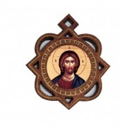The Medallion of Jesus Christ (3.3x2.9)cm