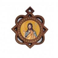 The Medallion of St. John the Baptist (3.3x2.9)cm