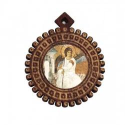 Medaljon Beli Anđeo (3.5x3)cm