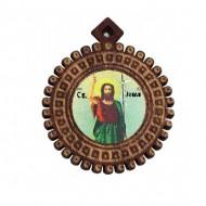 The Medallion of St. John the Baptist (3.5x3)cm