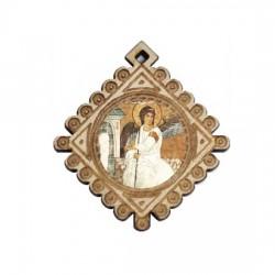 Medaljon Beli Anđeo (3.6x3.3)cm
