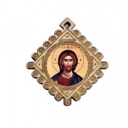 The Medallion of Jesus Christ (3.6x3.3)cm